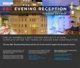 Invitation to the BBC Broadcasting House