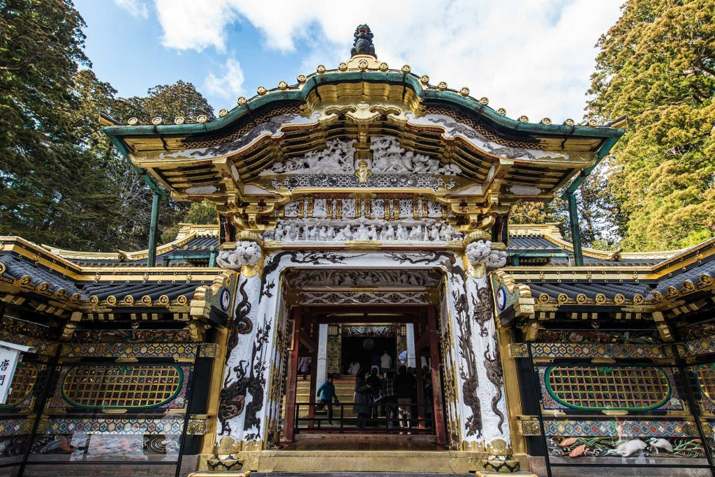 Toshogu Inner Shrine Entrance
