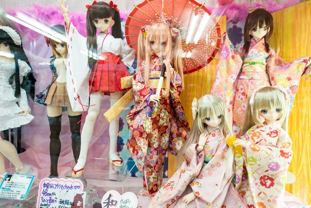 Collector anime dolls akihabara