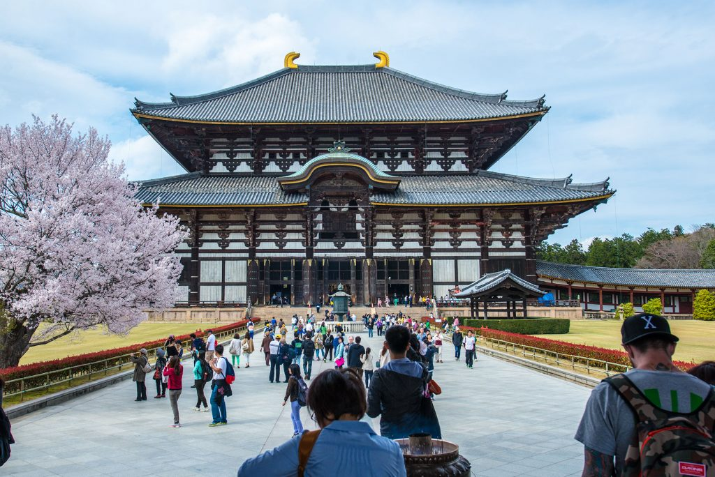 Todaiji whilst not the largest wooden building is certainly huge