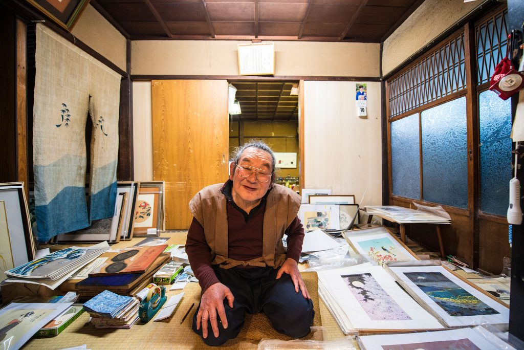 master ukiyoe printer